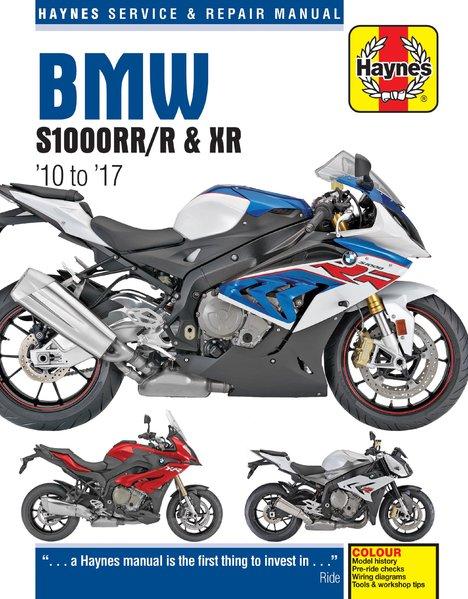 Werkstatt Handbuch Haynes Bmw S1000r S1000rr S1000xr 2010 2017