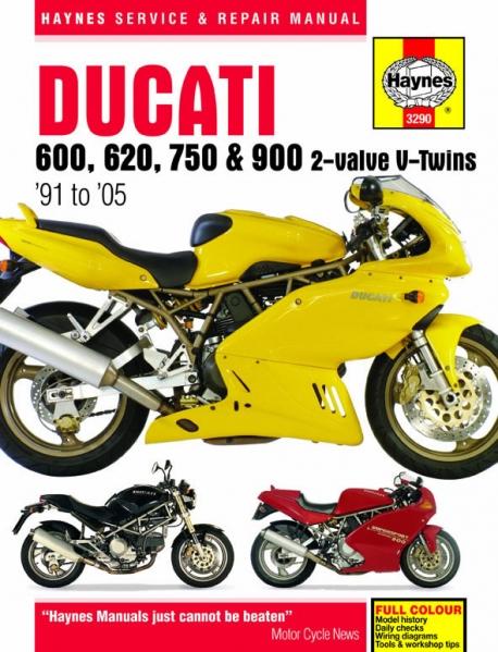 Werkstatt Handbuch Haynes Ducati M900 Monster 600 620 750 Und 900