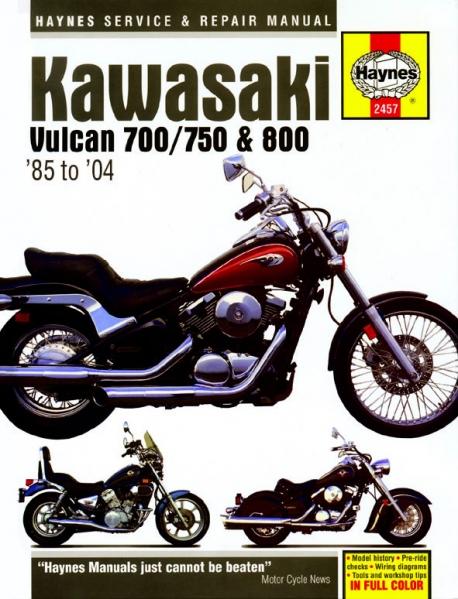 Kawasaki Vn Wiring Diagram on
