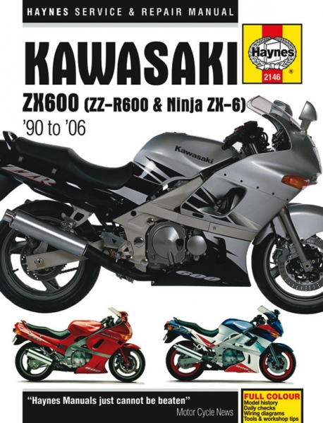 Fantastic Werkstatt Handbuch Haynes Kawasaki Zx600 Zzr600 Undn Ninja Zx6 90 06 Wiring 101 Cranwise Assnl