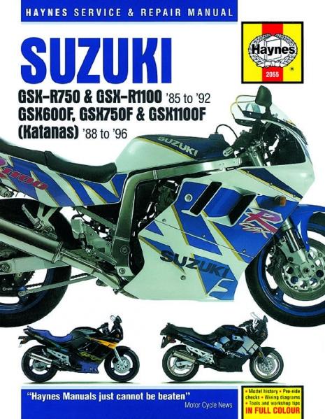 workshop manual haynes suzuki gsx-r750, gsx-r1100 85-92, gsx600f, gsx750f,  gsx1100f katana | mpartz.eu  mpartz.com